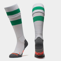 Original Hooped Match Sock - White/Green