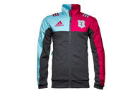 adidas Harlequins 2016/17 Players Performance Full Zip Rugby Fleece Jacket