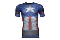 Under Armour Captain America Transform Yourself Compression S/S T-Shirt