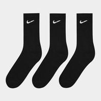Nike 3 Pair Pack Cotton Cushion Crew Socks