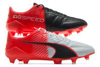 Puma evoSPEED 1.5 Leather FG Football Boots
