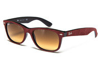 Ray-Ban 2132 6240 Wayfarer Soft Touch Sunglasses