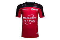 Hungaria Toulon 2016/17 Kids Home S/S Replica Rugby Shirt
