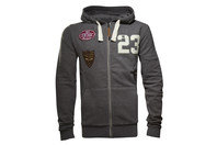 Heritage Full Zip Hooded Rugby Sweat