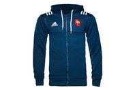 adidas France 2016/17 Players Hooded Rugby Sweat