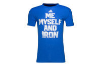 adidas Me Myself And Iron S/S Graphic T-Shirt