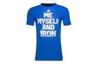adidas Me Myself And Iron S/S Graphic T-Shirt