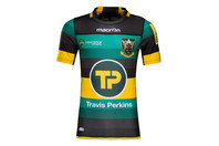 Macron Northampton Saints 2016/17 Home S/S Authentic Test Rugby Shirt
