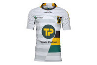 Macron Northampton Saints 2016/17 Alternate S/S Replica Rugby Shirt