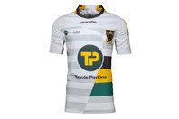 Macron Northampton Saints 2016/17 Kids Alternate S/S Replica Rugby Shirt