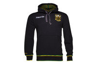 Macron Northampton Saints 2016/17 Players Travel Hooded Rugby Sweat