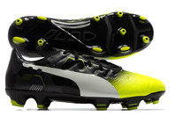Puma evoPOWER 3.3 Graphic FG Kids Football Boots