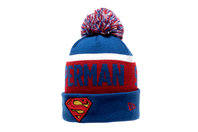 New Era Superman Team Bobble Knit Hat