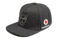 Canterbury New Zealand Warriors NRL 2017 Flat Peak Rugby Supporters Cap