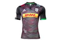 adidas Harlequins 2016 Big Game 9 Kids S/S Charity Rugby Shirt