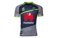 ISC Canberra Raiders Alternate NRL 2017 Replica S/S Rugby Shirt