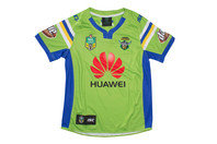 ISC Canberra Raiders Home 2017 NRL Kids S/S Replica Rugby Shirt