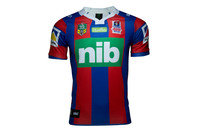ISC Newcastle Knights Home NRL 2017 S/S Replica Rugby Shirt