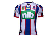 ISC Newcastle Knights Alternate NRL 2017 S/S Replica Rugby Shirt