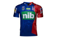 ISC Newcastle Knights NRL Auckland 9s 2017 S/S Rugby Shirt