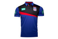 ISC Newcastle Knights NRL 2017 Players Media Rugby Polo Shirt