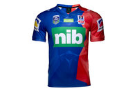 ISC Newcastle Knights NRL 2017 Players Rugby Training T-Shirt