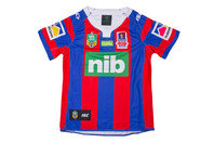 ISC Newcastle Knights 2017 Home NRL Kids S/S Replica Rugby Shirt
