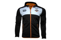ISC Wests Tigers NRL 2017 Players Workout Hooded Rugby Sweat