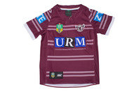 ISC Manly Sea Eagles 2017 NRL Kids Home S/S Rugby Shirt