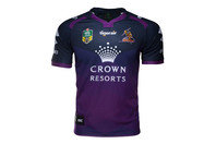 ISC Melbourne Storm NRL 2017 Home S/S Rugby Shirt