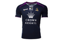 ISC Melbourne Storm NRL 2017 Players Rugby Training T-Shirt