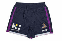 ISC Melbourne Storm NRL 2017 Players Rugby Training Shorts