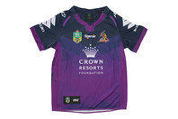 ISC Melbourne Storm NRL 2017 Kids Home S/S Rugby Shirt