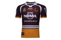 ISC Brisbane Broncos NRL 2017 Home S/S Rugby Shirt