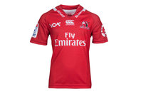 Canterbury Lions 2017 Home Kids S/S Super Rugby Replica Shirt