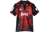 adidas Crusaders 2017 Territory Kids S/S Super Rugby Shirt