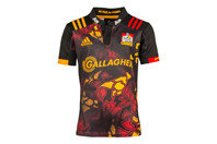 adidas Chiefs 2017 Territory Kids S/S Super Rugby Shirt