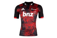 adidas Crusaders 2017 Territory S/S Super Rugby Shirt