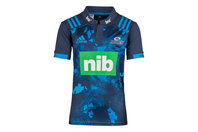 adidas Blues 2017 Territory Kids S/S Super Rugby Shirt