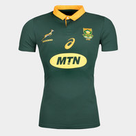 Asics South Africa Springboks 2017/18 S/S Home Pro Rugby Shirt