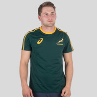 Asics South Africa Springboks 2017/18 Supporters Rugby T-Shirt