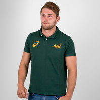 Asics South Africa Springboks 2017/18 Supporters Rugby Polo Shirt