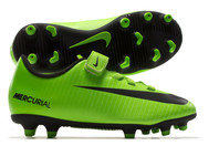 Nike Mercurial Vortex III V Kids FG Football Boots
