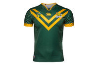 Australia Kangaroos 2016 Home S/S Pro Rugby League Shirt