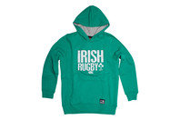 Canterbury Ireland IRFU 2015/16 Kids Graphic Hooded Rugby Sweat