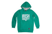 Canterbury Ireland IRFU 2015/16 Youth Graphic Hooded Rugby Sweat