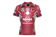ISC Brisbane Broncos 2017 NRL Iron Man Marvel S/S Ltd Edition Rugby Shirt