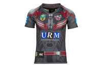 ISC Manly Sea Eagles 2017 NRL Kids Marvel S/S Ltd Edition Rugby Shirt