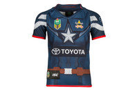 ISC North Queensland Cowboys 2017 NRL Kids Captain America Marvel S/S Ltd Edition Rugby Shirt