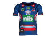 ISC Newcastle Knights 2017 NRL Kids Marvel S/S Ltd Edition Rugby Shirt